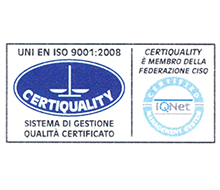 echopress certificazione di qualità